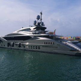 "Some weeks ago, Lamaignere coordinated the superyacht ""Sanam"" in Puerto Sherry (Cádiz)"
